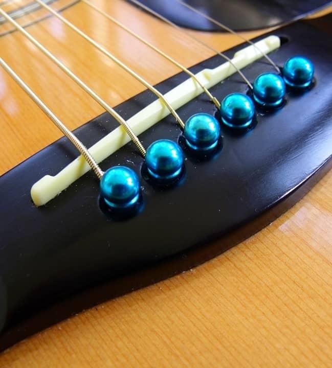 Guitar Bridge and Guitar Saddle