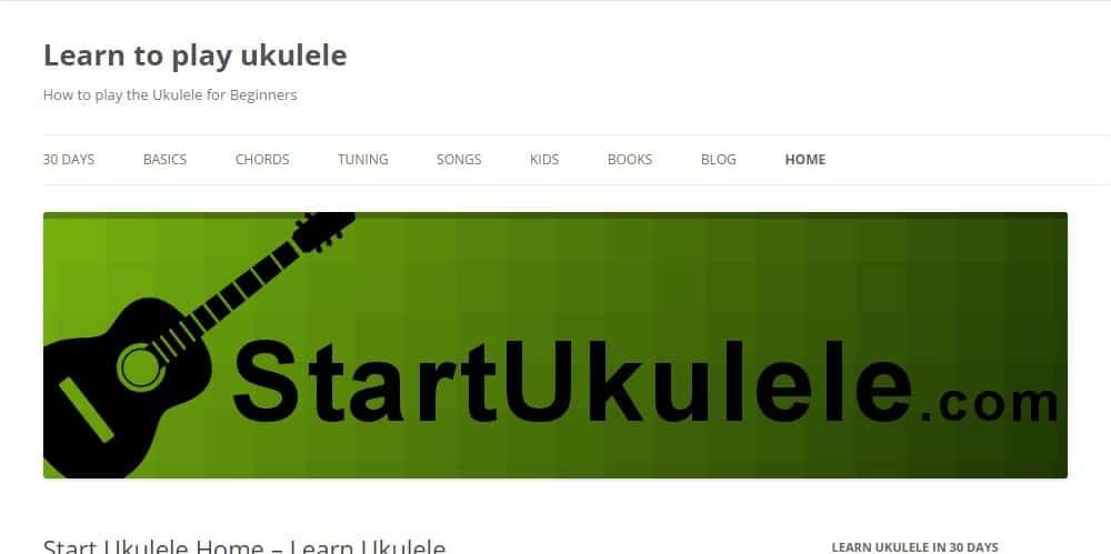 Start Ukulele