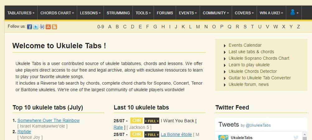 The Top 50 Ukulele Sites Stringvibe
