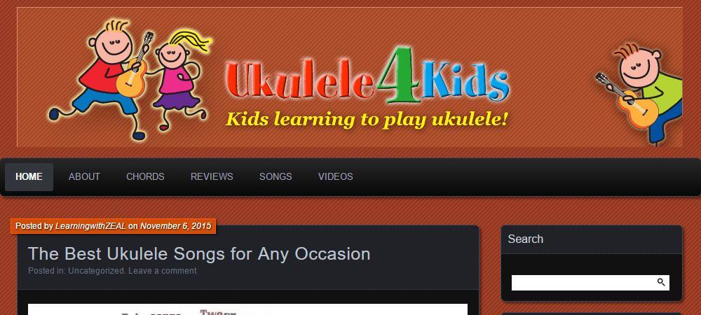 Ukulele 4 Kids