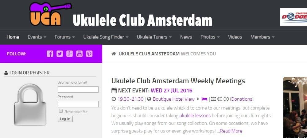 Ukulele Club Amsterdam