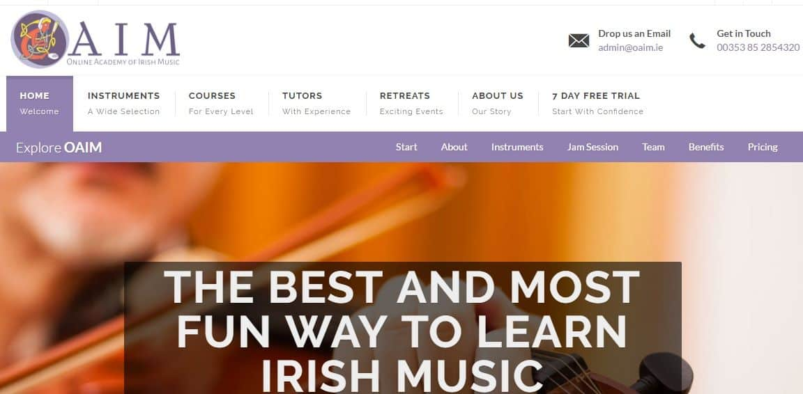 Irish Music Lessons