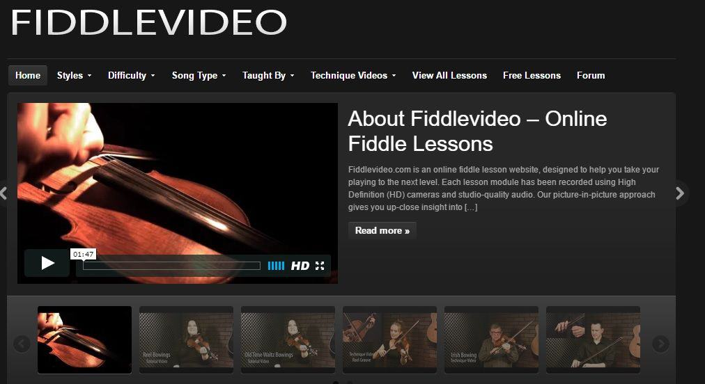 Fiddle Videos Online