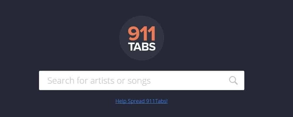 911 Tabs Website