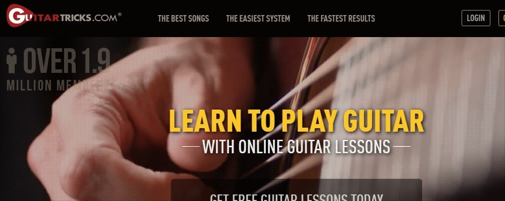 Guitar Tricks Website