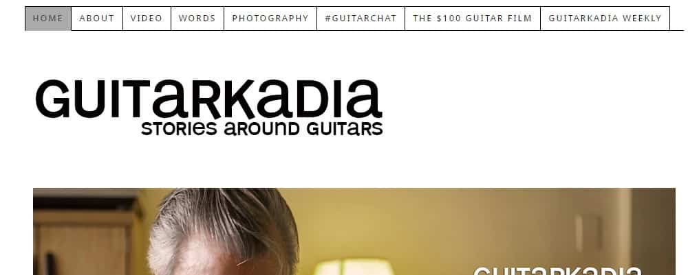 Guitarkadia Website