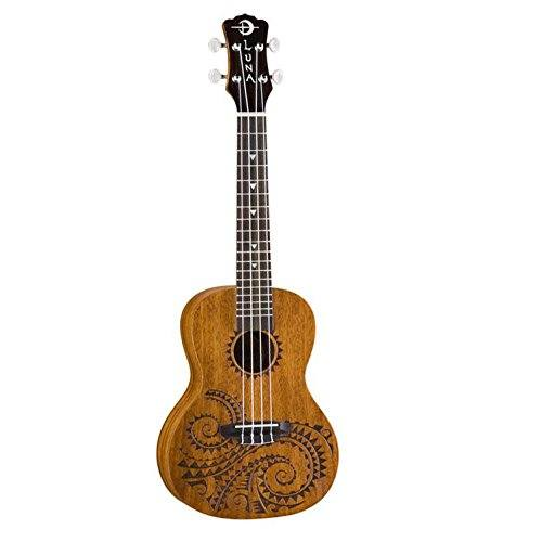 Luna Tattoo Tenor Ukulele