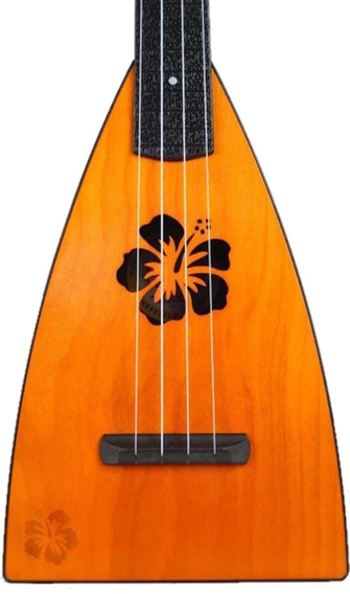 Magic Fluke Co Fluke Designer Floral Mango Tenor Ukulele