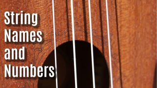 The Complete Guide to Ukulele String Notes, Names and Numbers