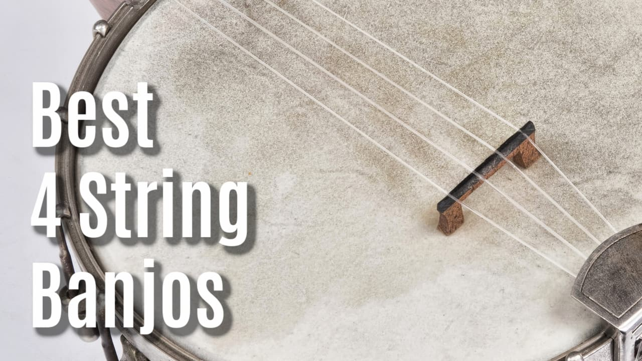best 4 string banjo
