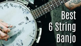 best 6 string banjo