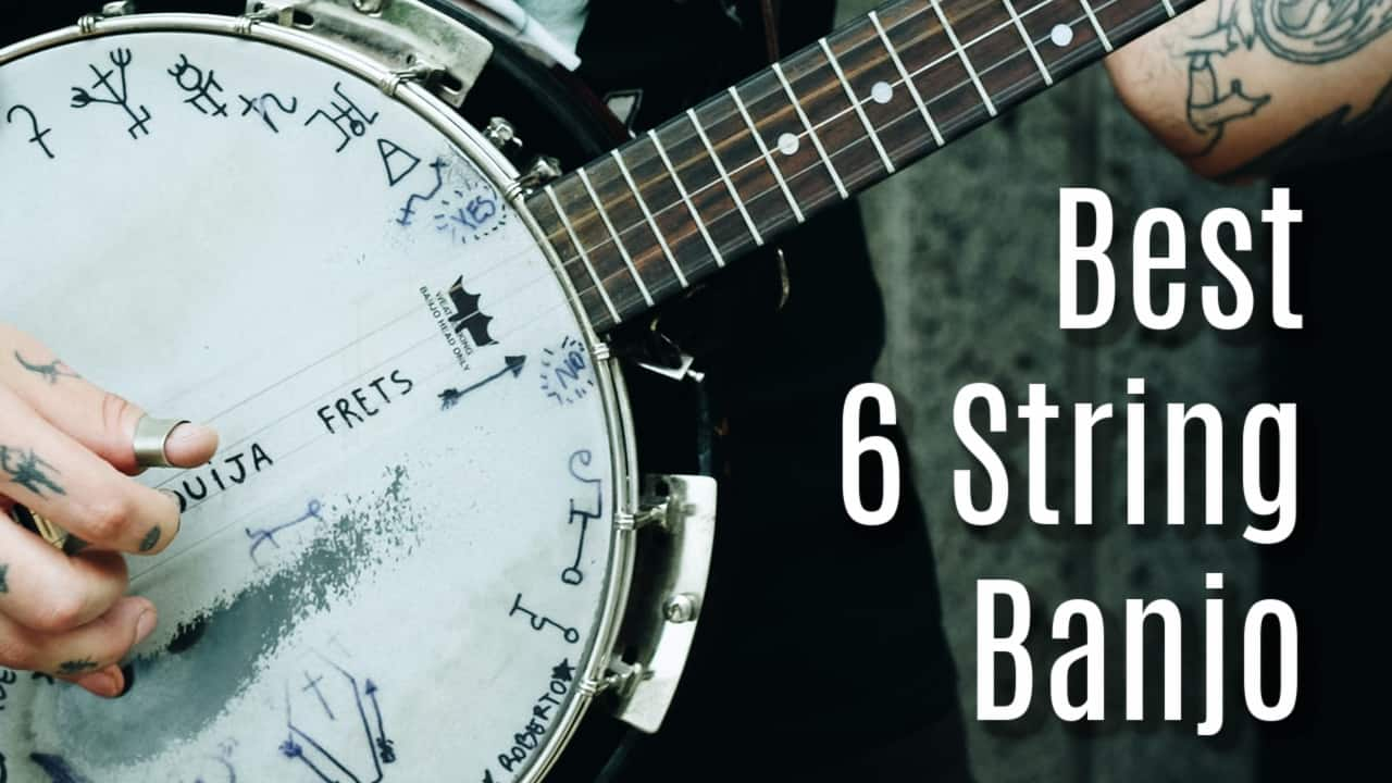 best 6 string banjo