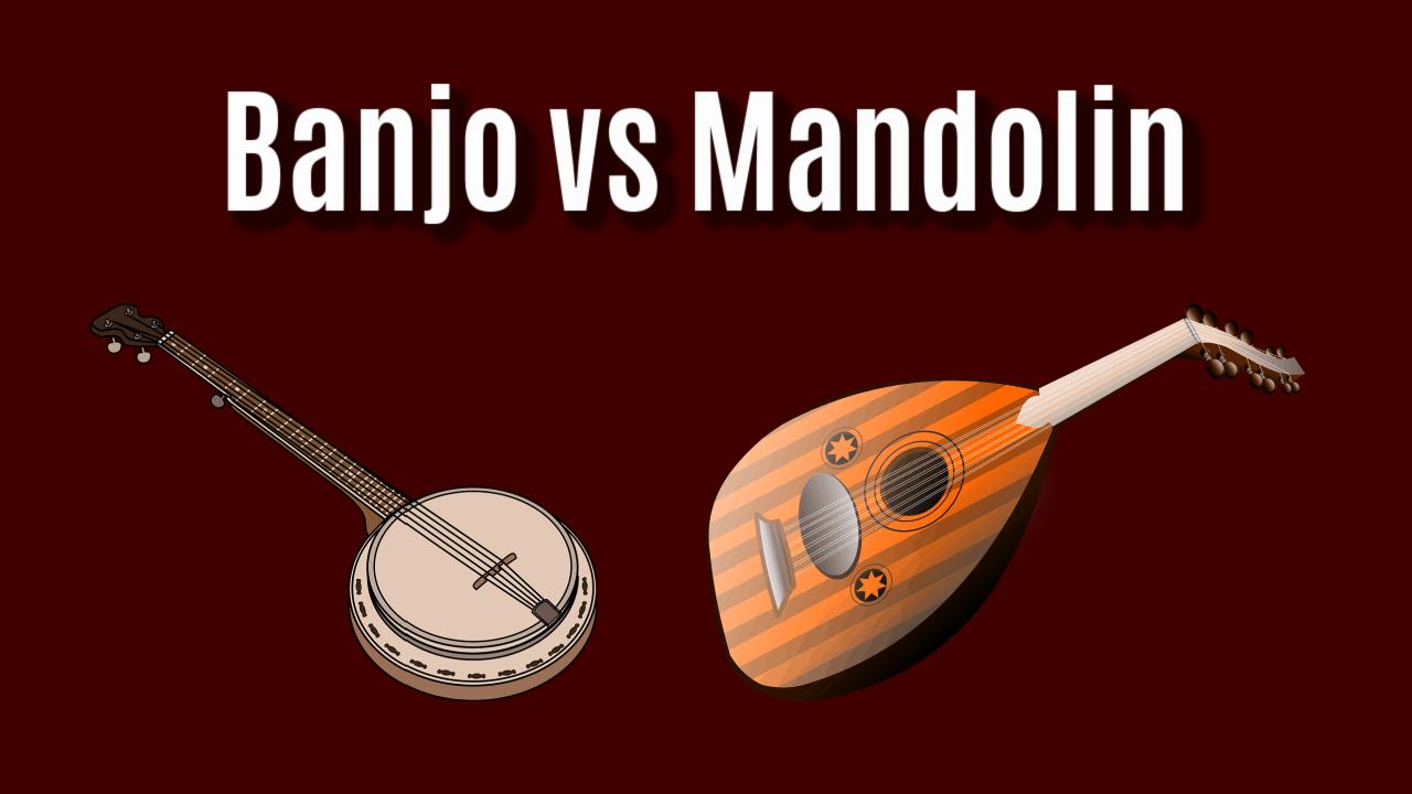banjo vs mandolin
