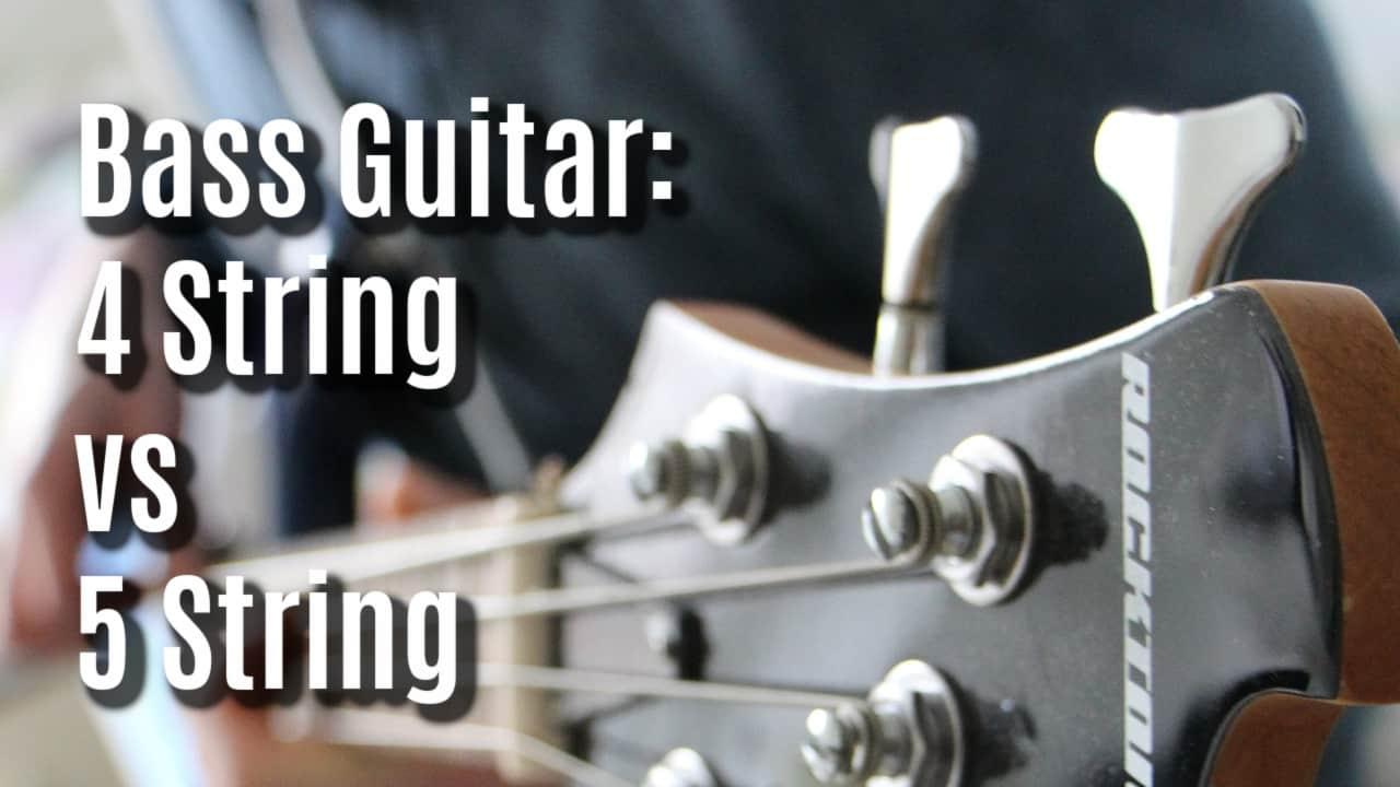4 string vs 5 string bass